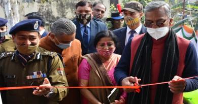 मुख्यमंत्री ने किया राज्य के पहले बाल मित्र थाने का शुभारम्भ