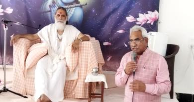 कृष्ण कृपा धाम में मनाया गया भगवान कृपा बिहारी का तृतीय प्रकोटत्सव